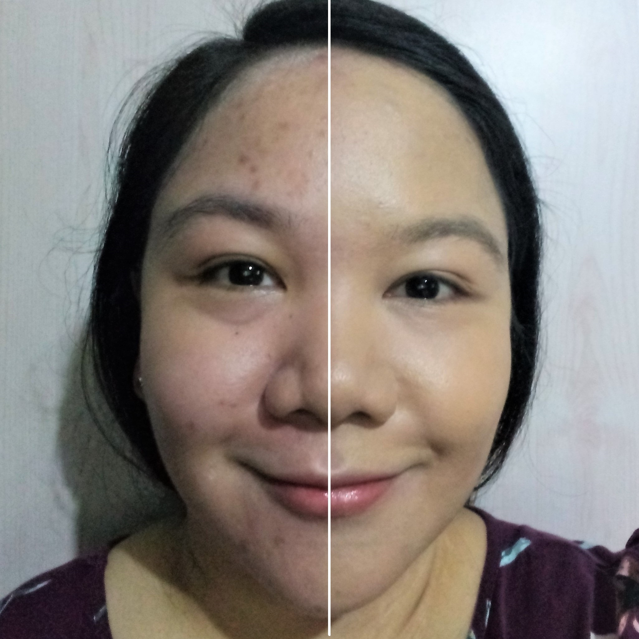 The foundation alone covers up all my blemishes - no concealer needed!