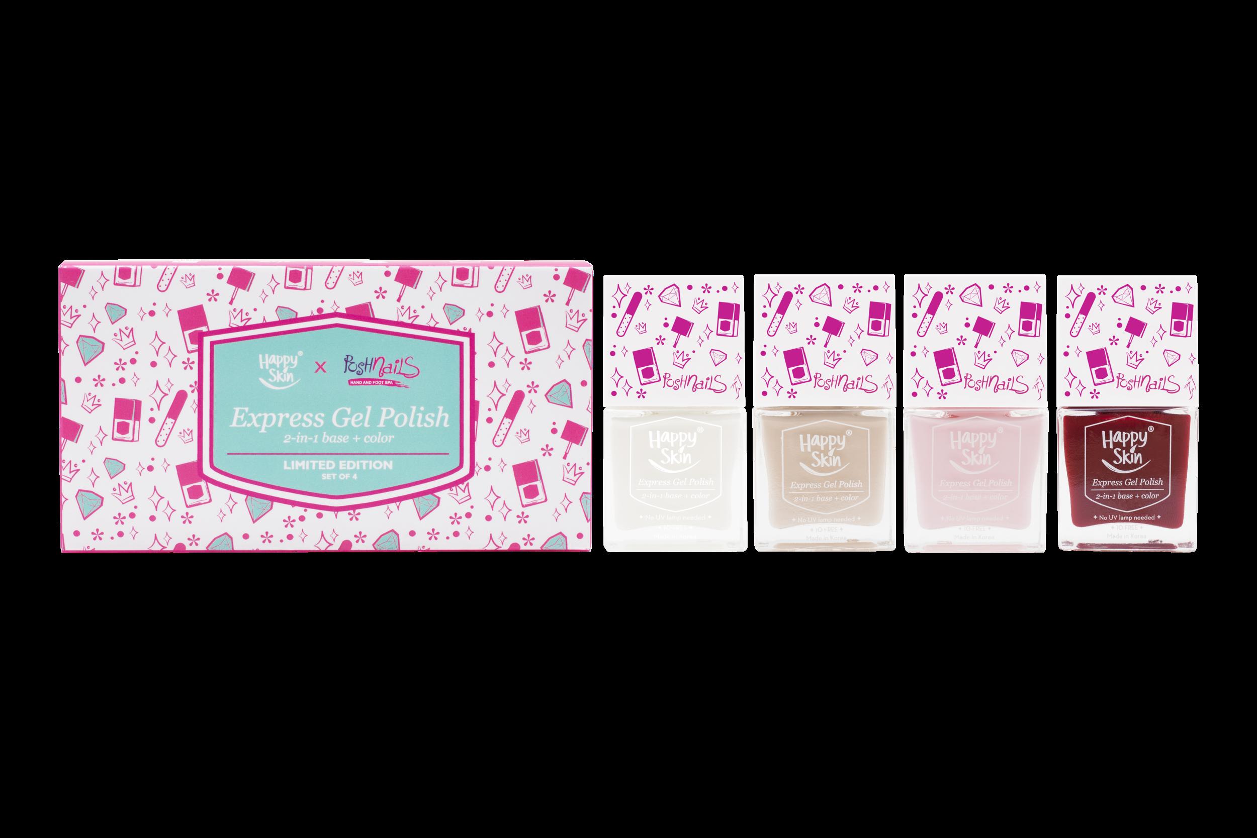 Happy Skin x Posh Nails Limited Edition Set