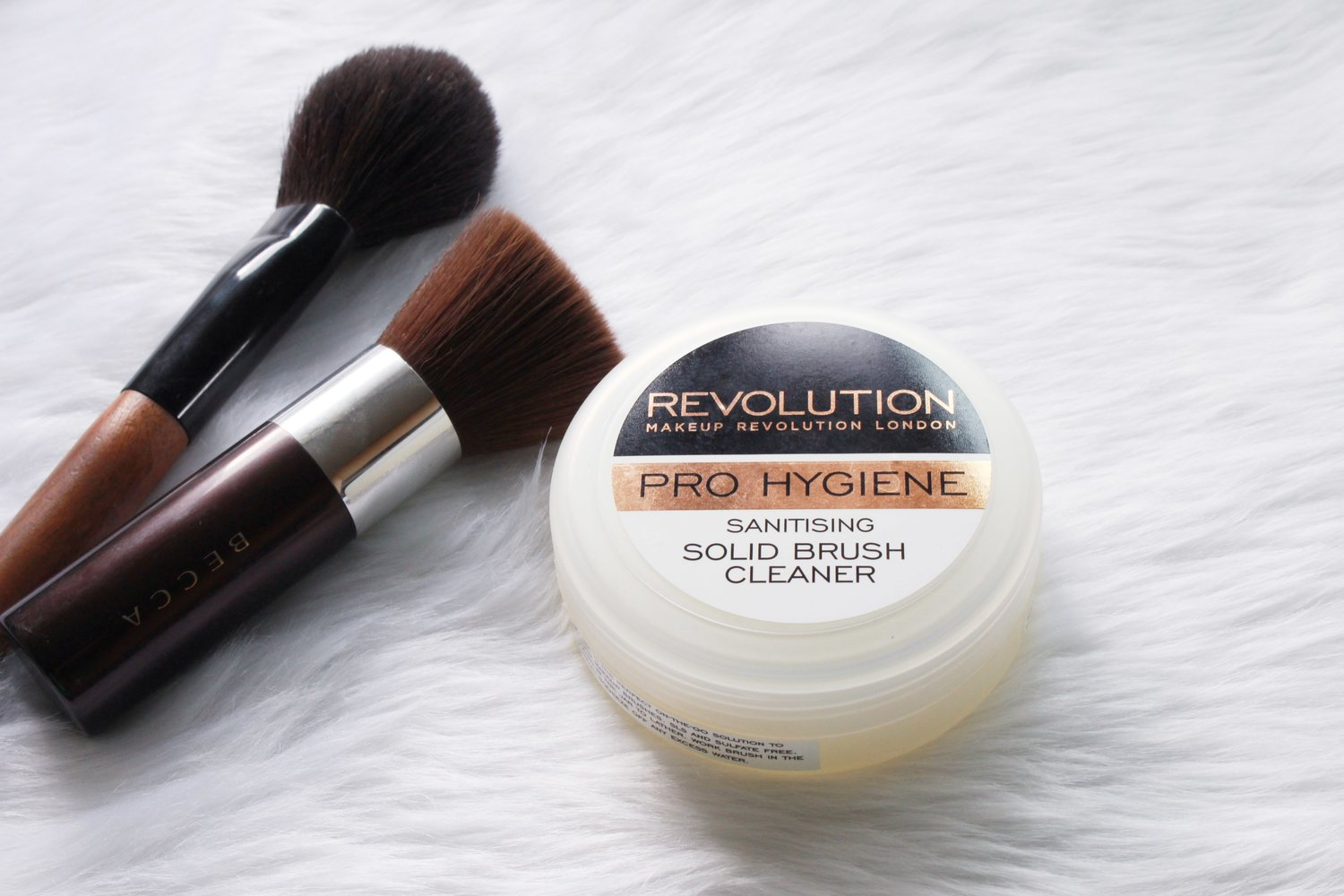 The Makeup Revolution Solid Brush Cleaner from Lannel Boutique