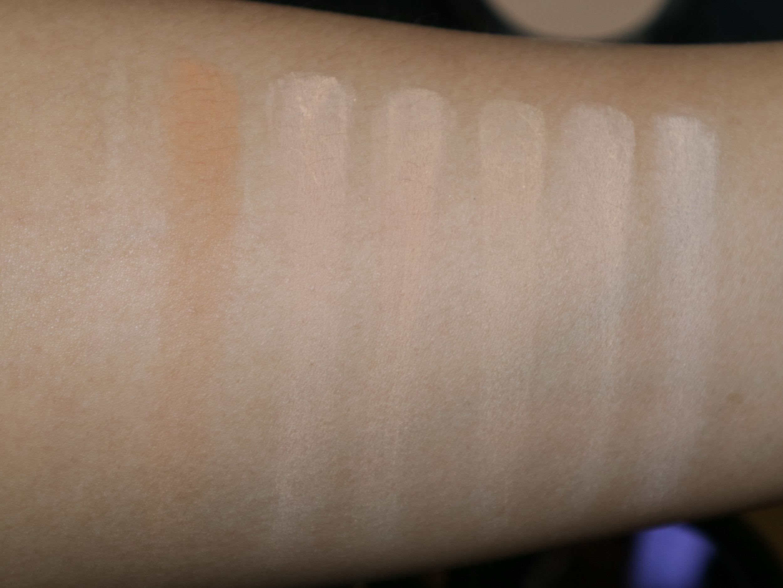 Swatches, from left: NC42, NC37, NC35, NC30, NC25, NC20
