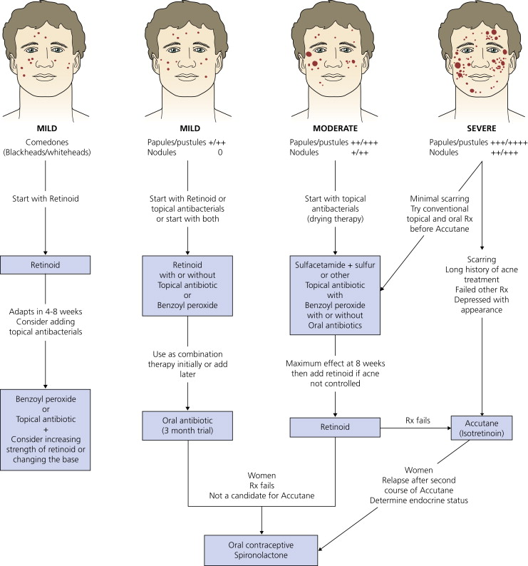 Clinical Dermatology (Figure 7-3) by Thomas Habif, MD