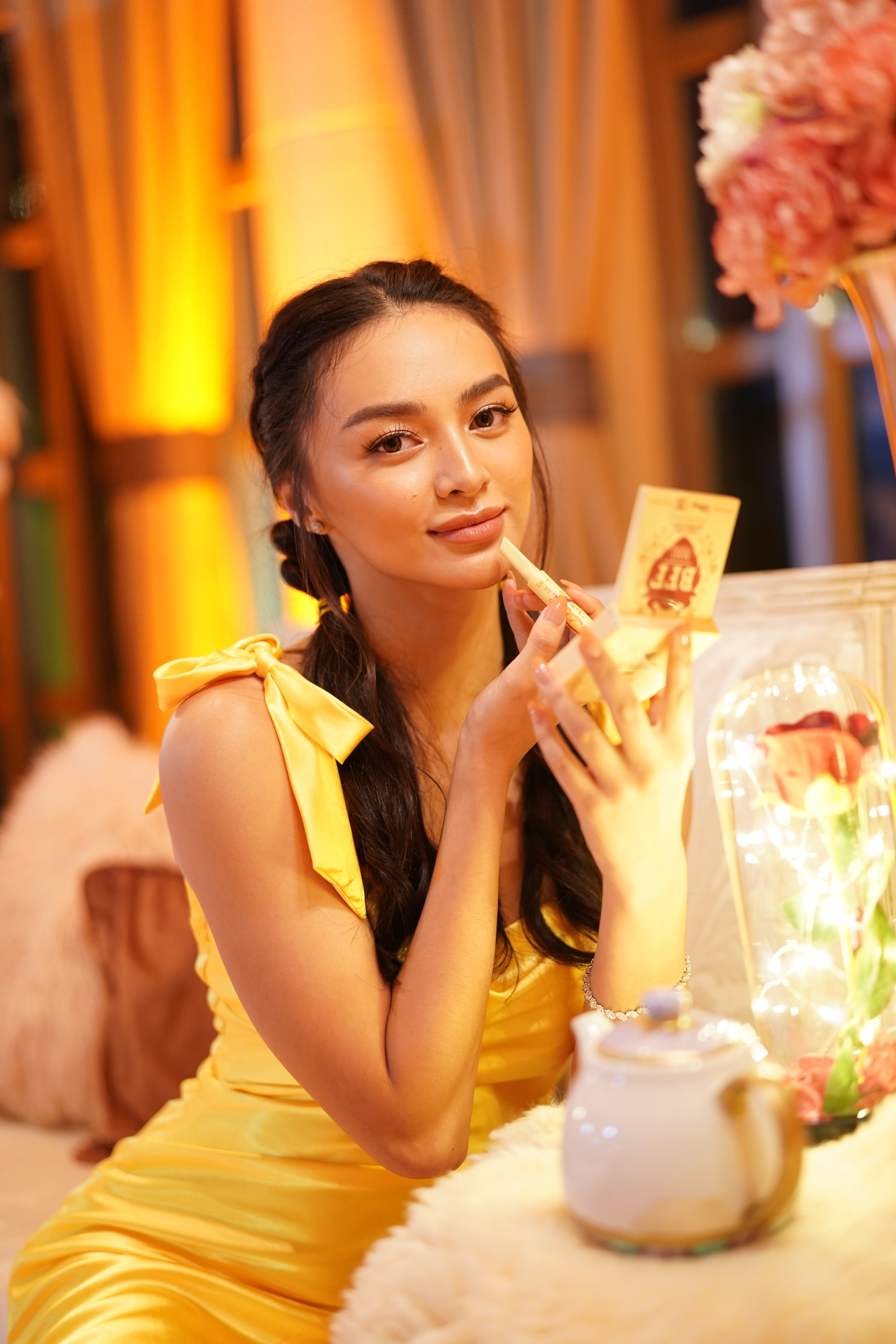 Kylie Verzosa as the modern day Belle