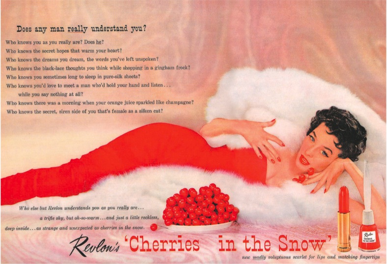 Revlon Cherries in the Snow (Image via Analytic Approach to Style)