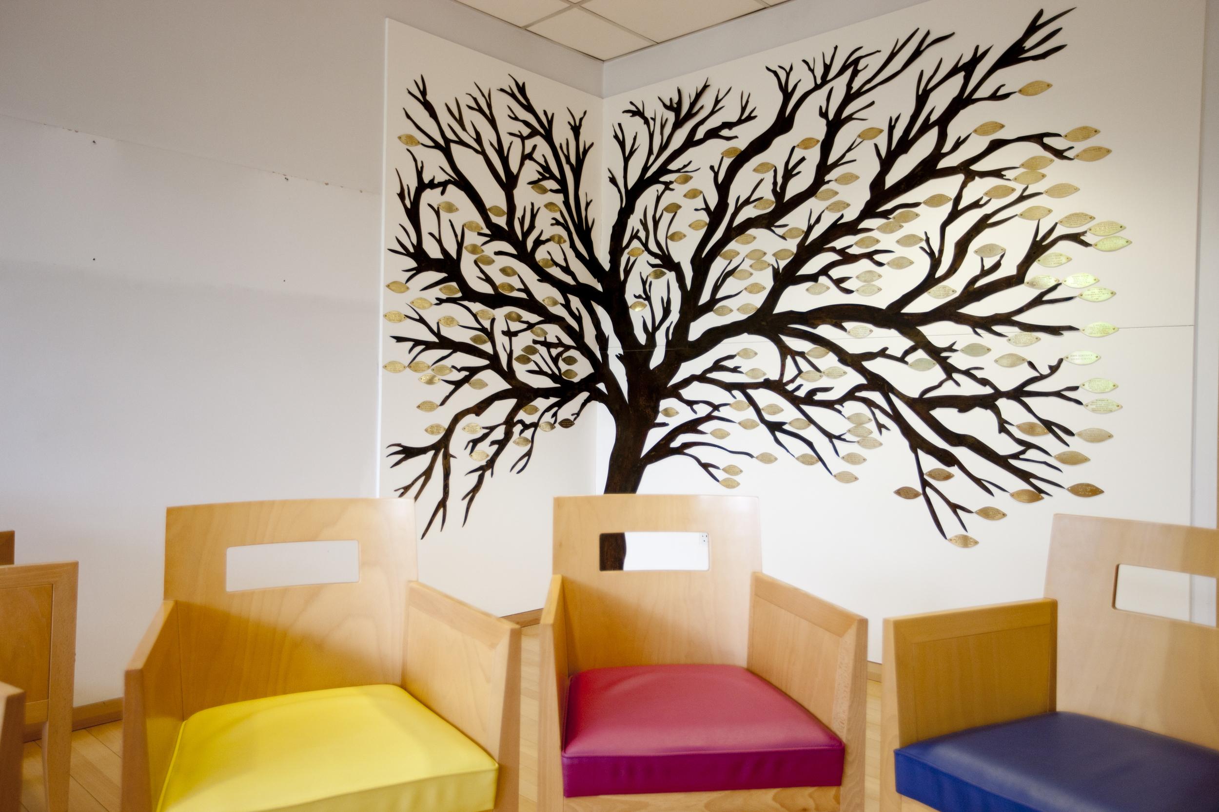 Image Memorial tree, St Christopher's Hospice, Nadia Bettega