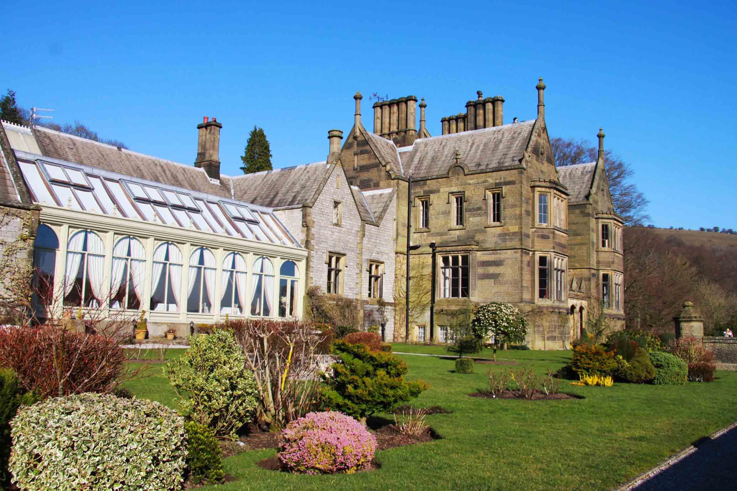 Cressbrook Hall, Derbyshire