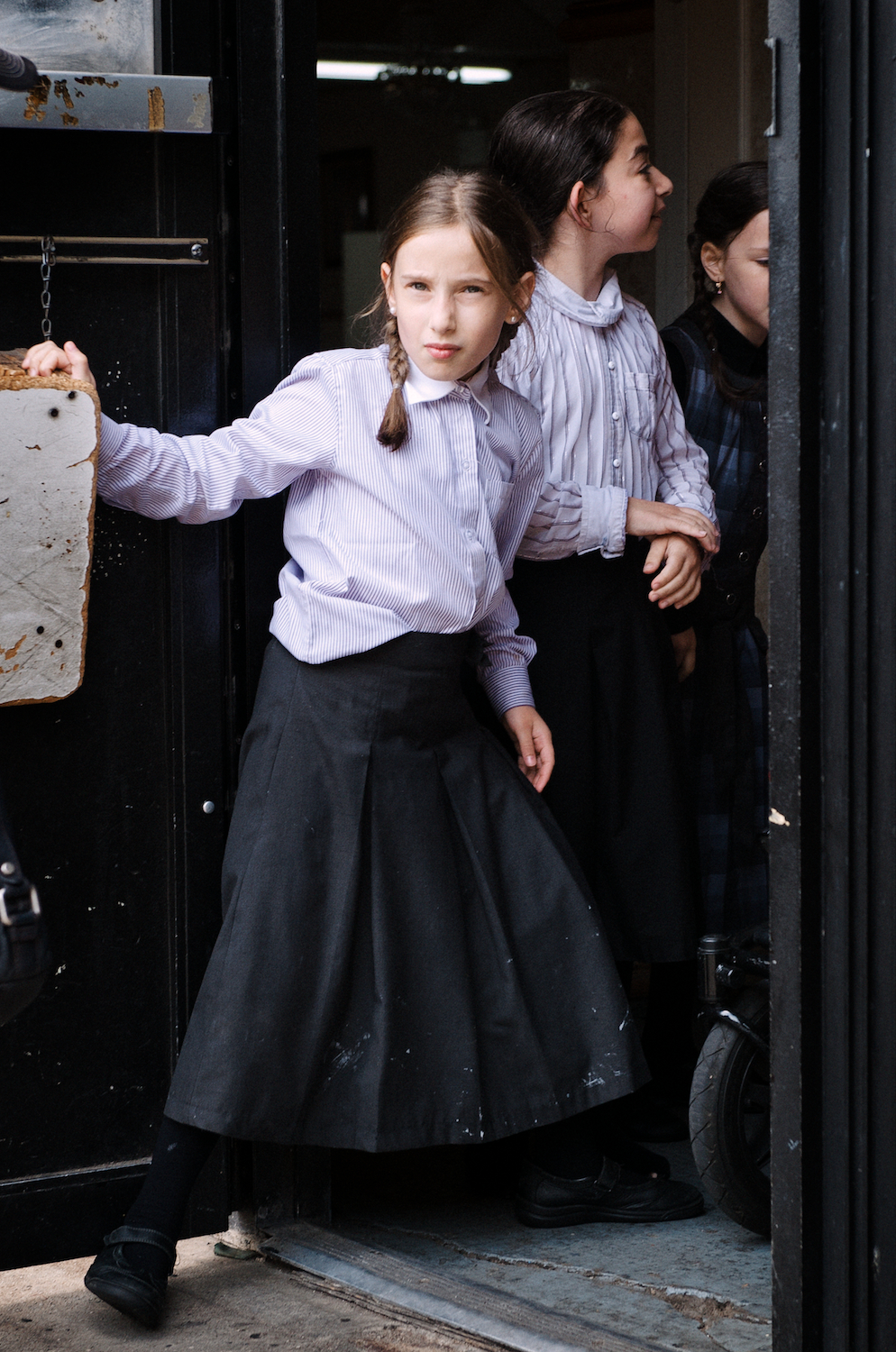 Hasidic Children's School.  Williamsburg, Brooklyn