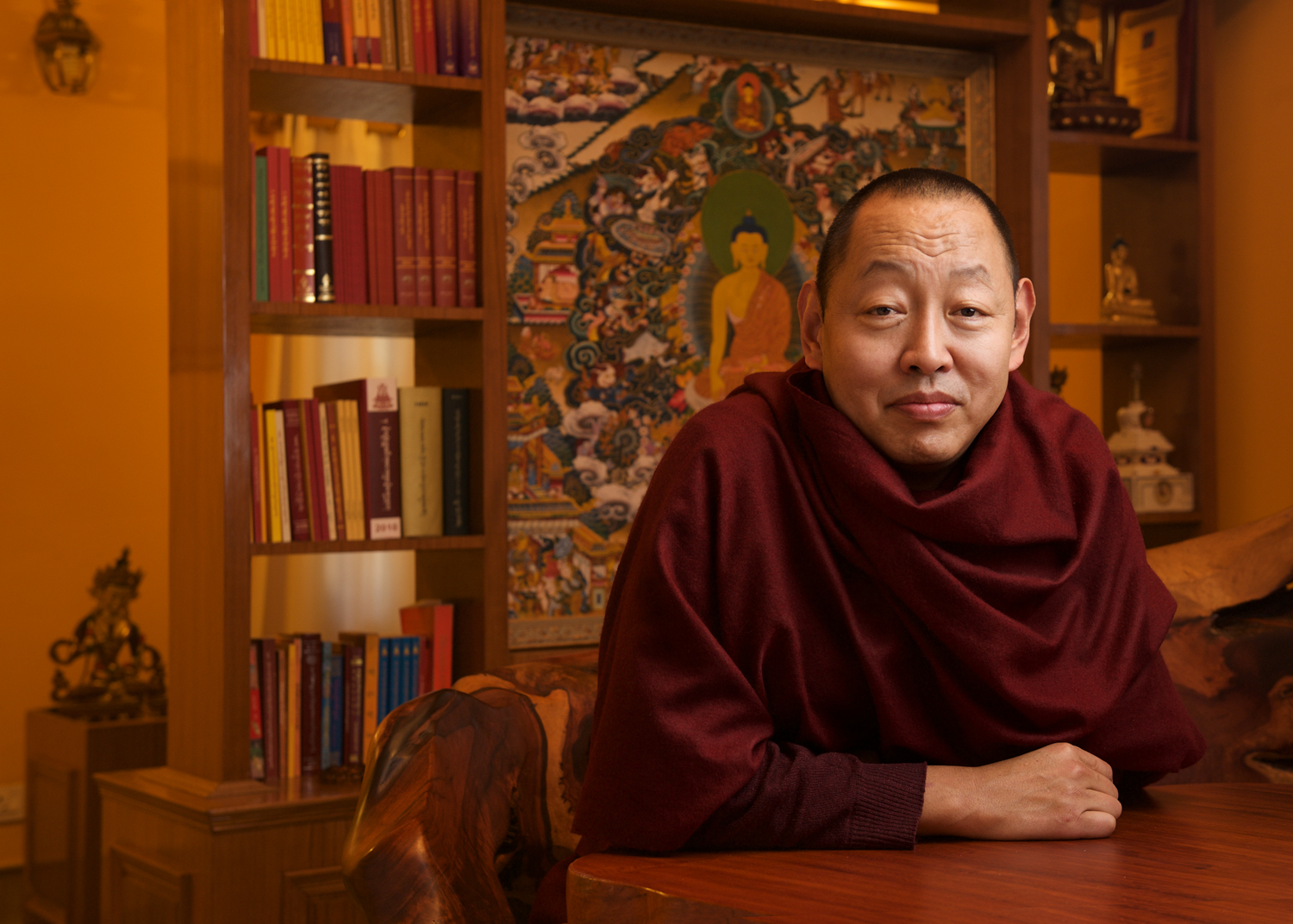 His Eminence the 9th Khenchen Rinpoche