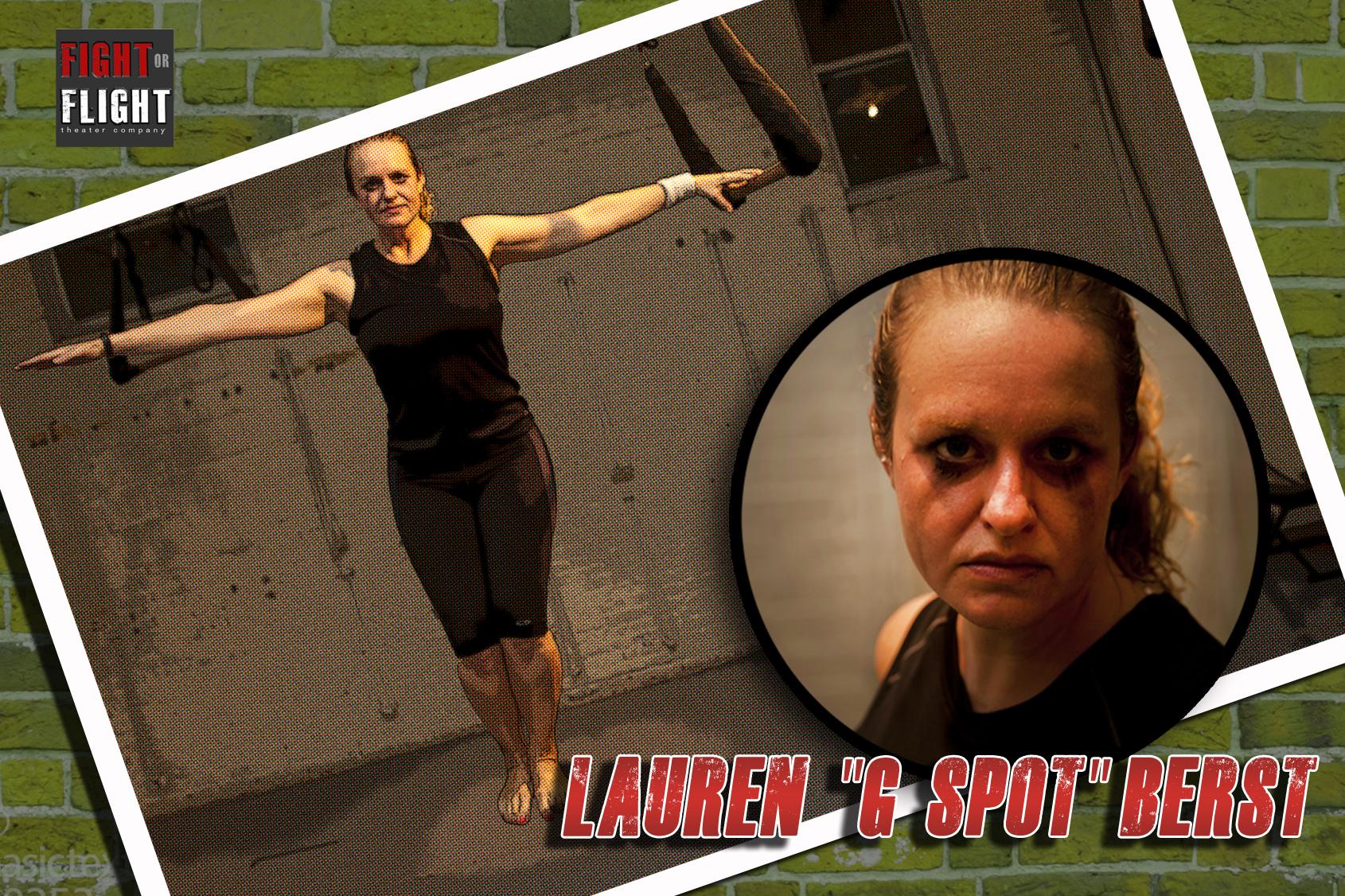"""LAUREN """"G-SPOT"""" BERST"""