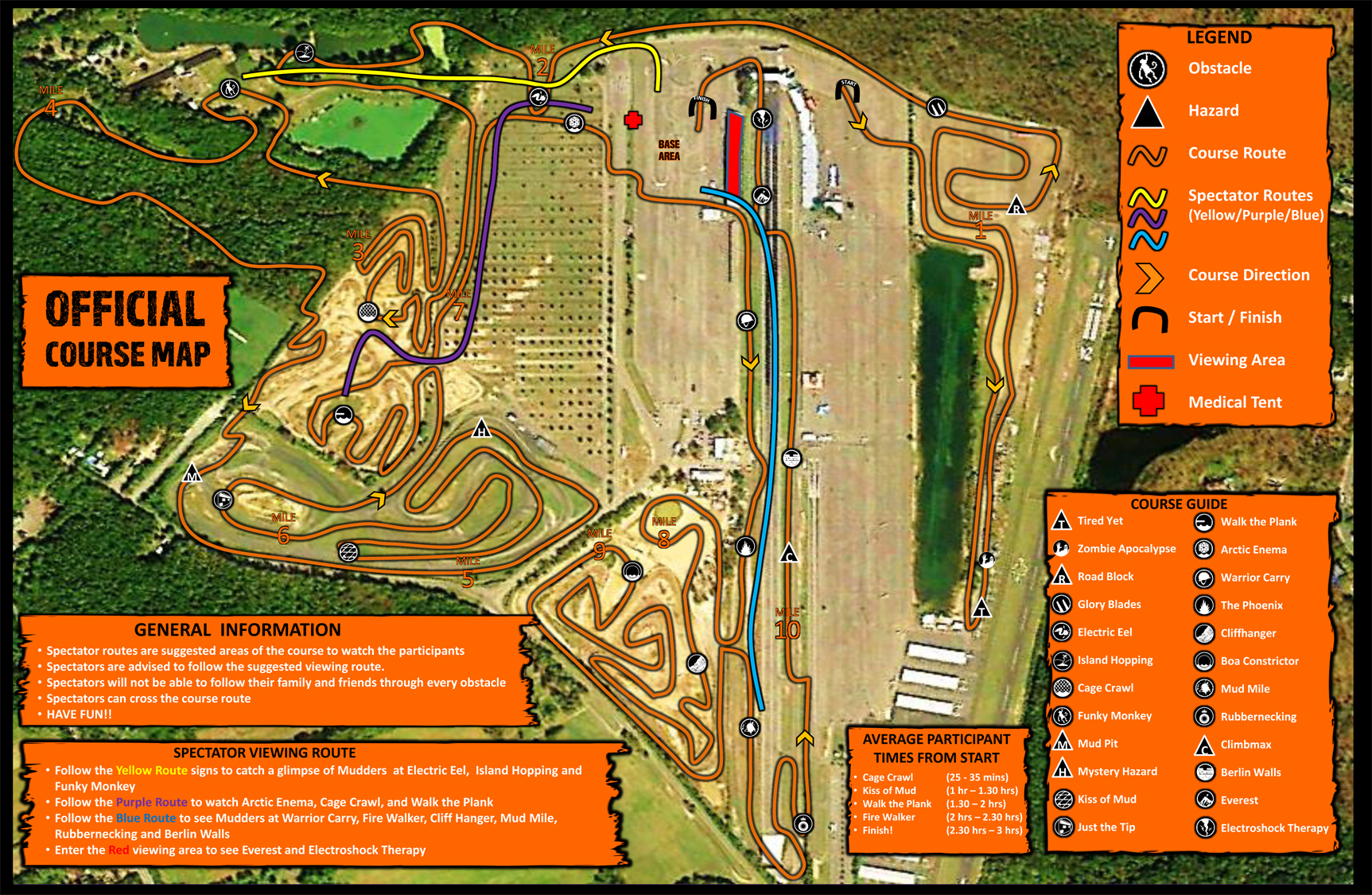 The Official Course Map! (click to enlarge)