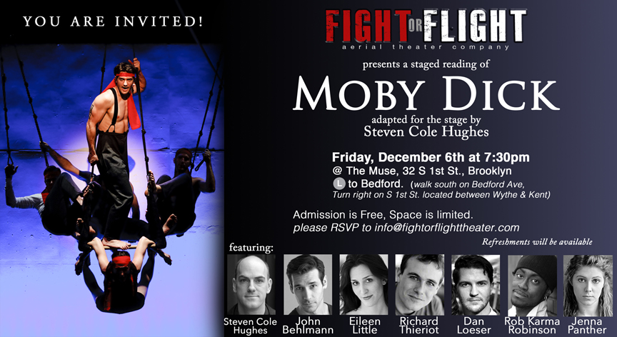 RSVP to info@fightorflighttheater.com