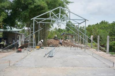 Work begins for the Bible College