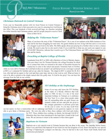 Read our winter 2014-2015 field report here