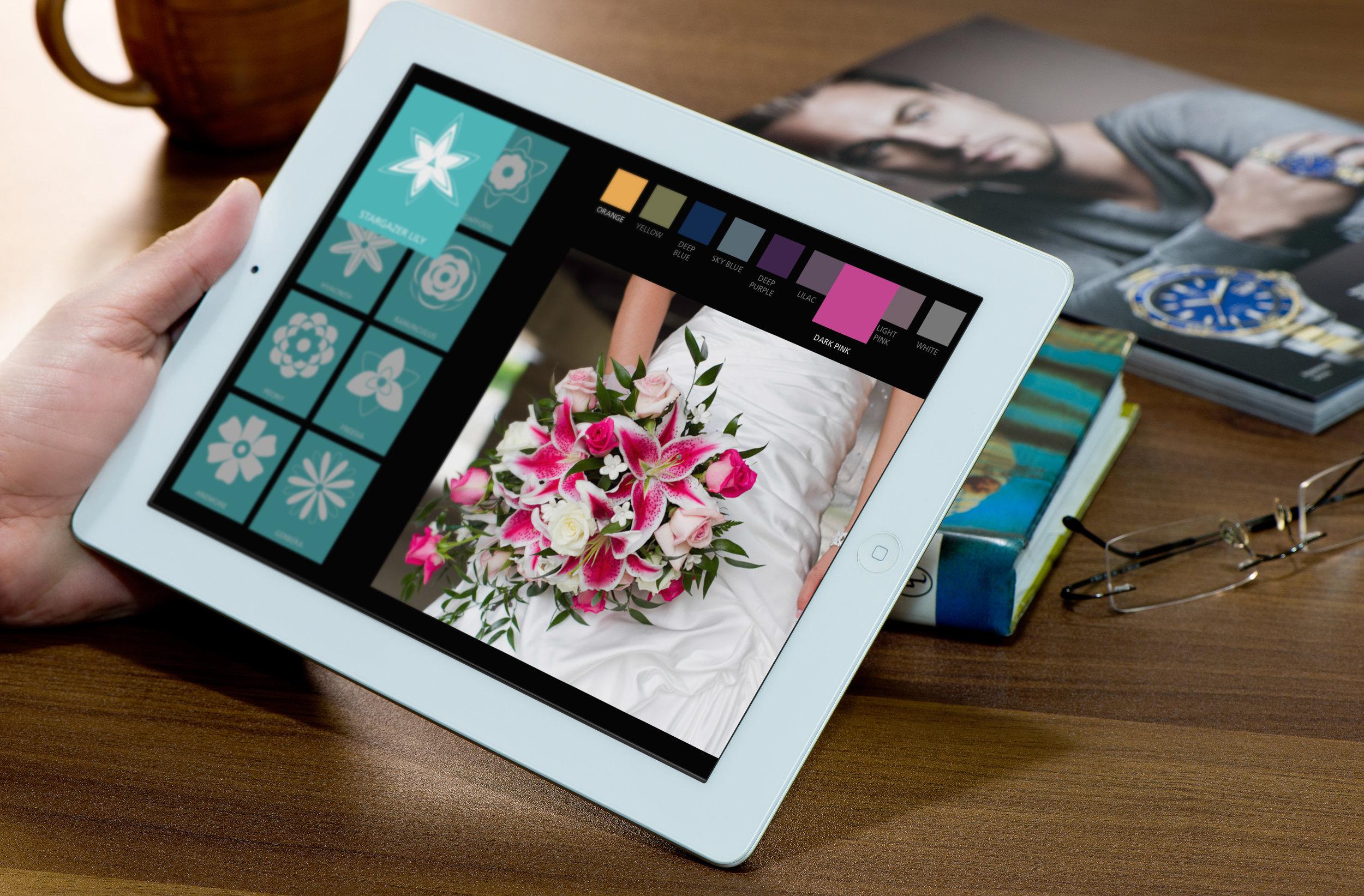 Wedding Flowers App