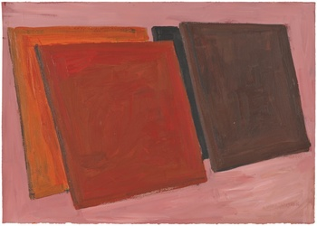 Phyllida Barlow Fifty Years of Drawings at Hauser & Wirth Gallery London 23 May – 26 July 2014