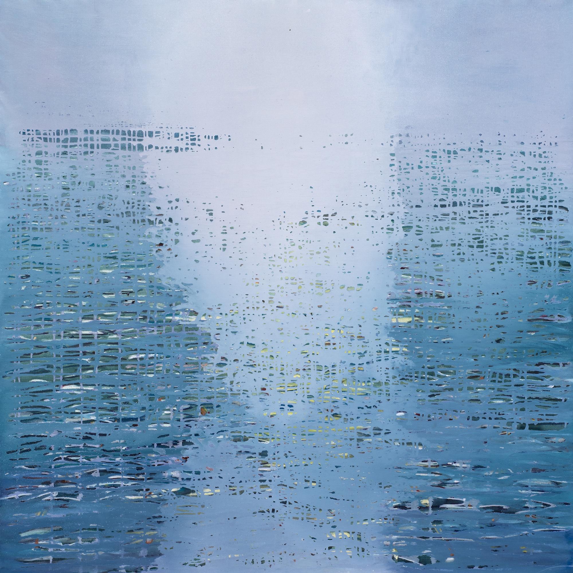 Luke Elwes Ganga 10 2018 120x120cm