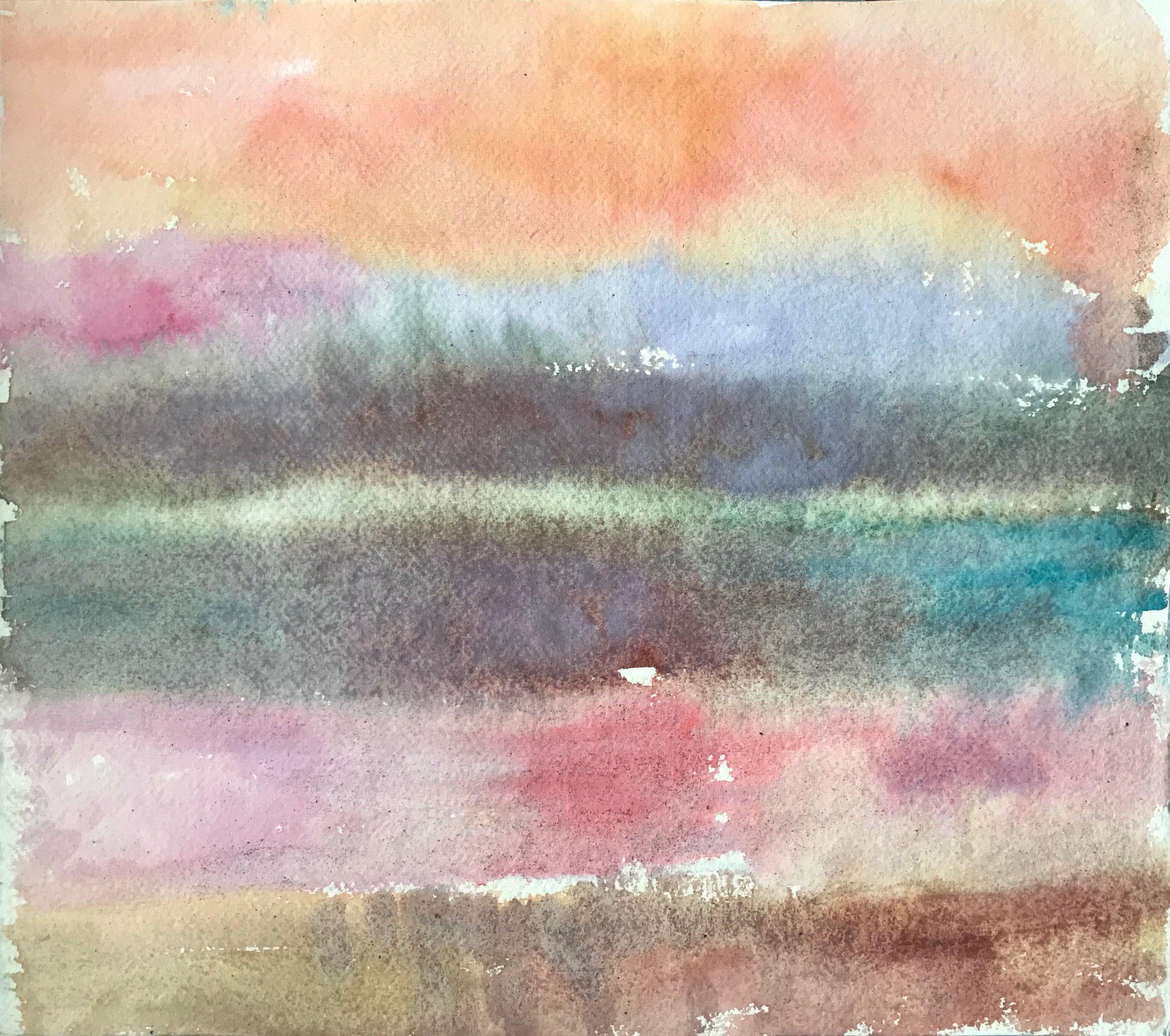 Sunrise study 6 (Ganges),30x34cm.jpeg