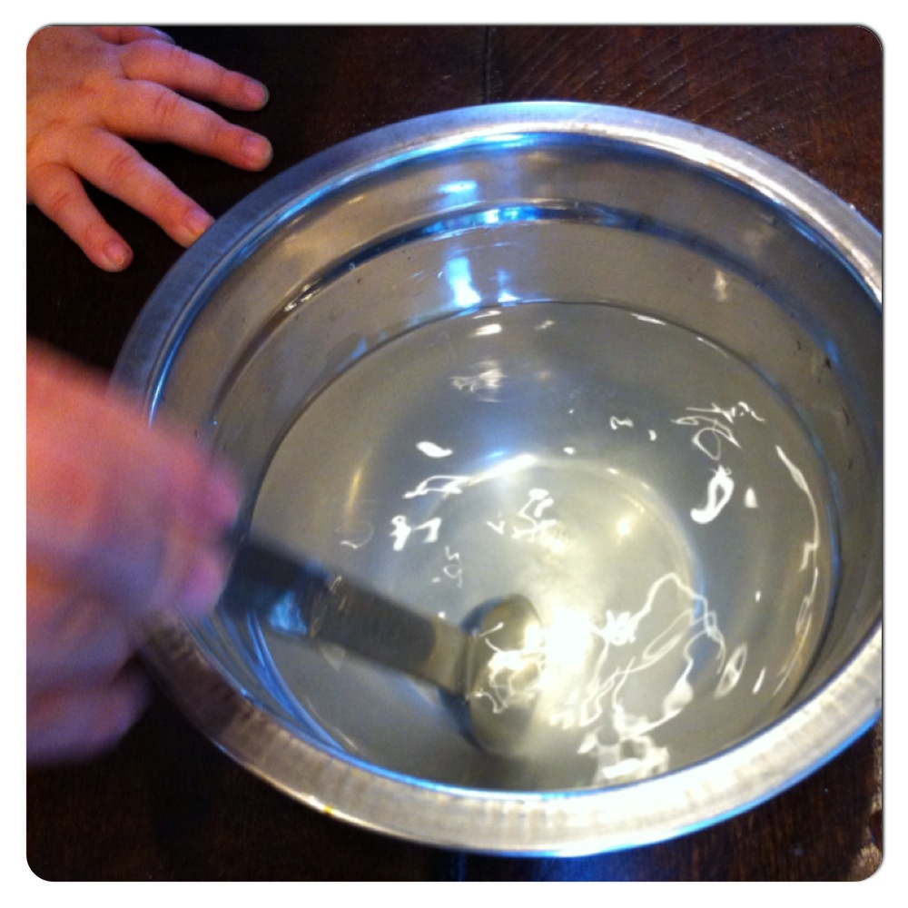 Borax and Water