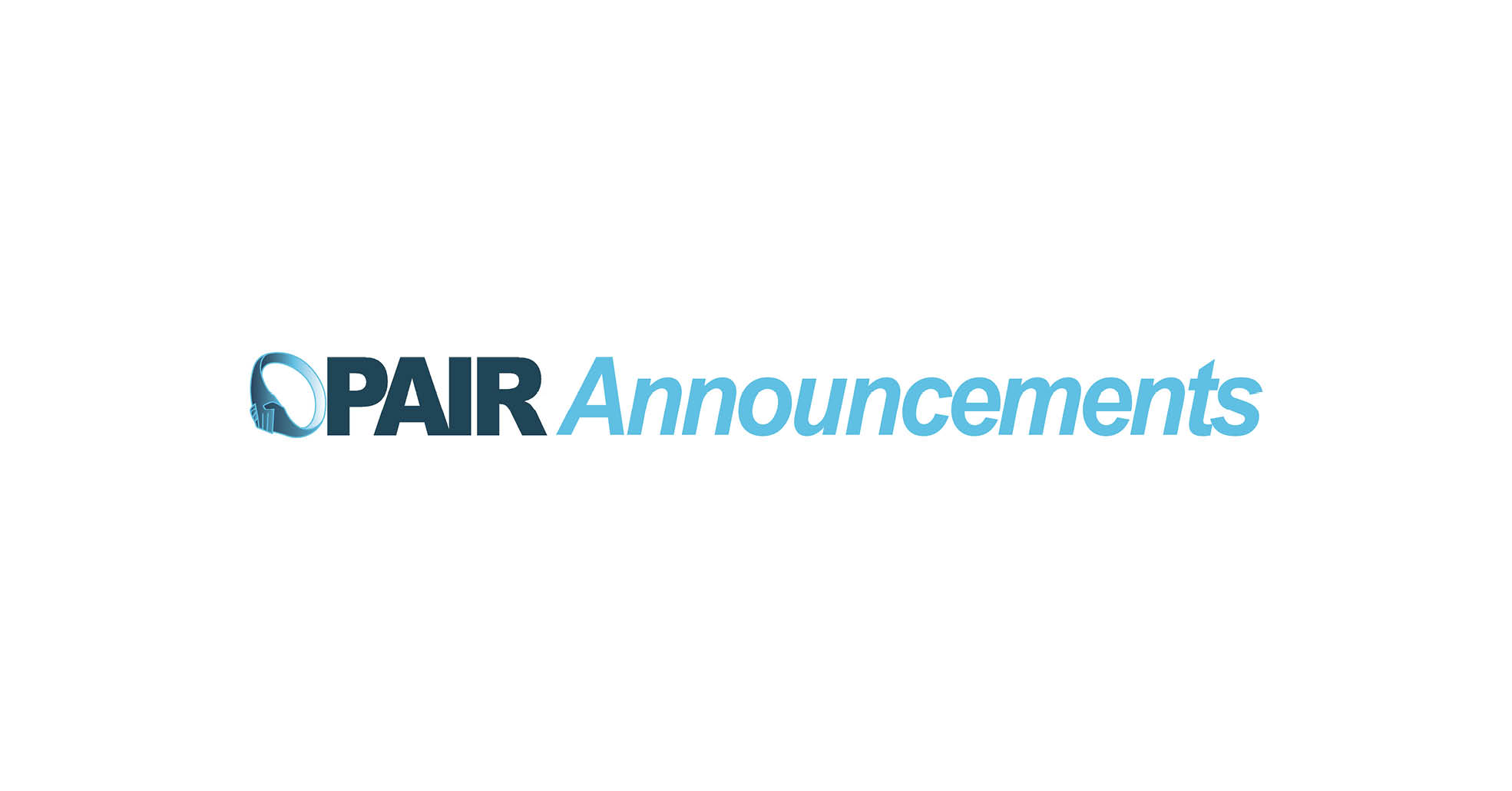 Branding for PAIR's Announcements Emails