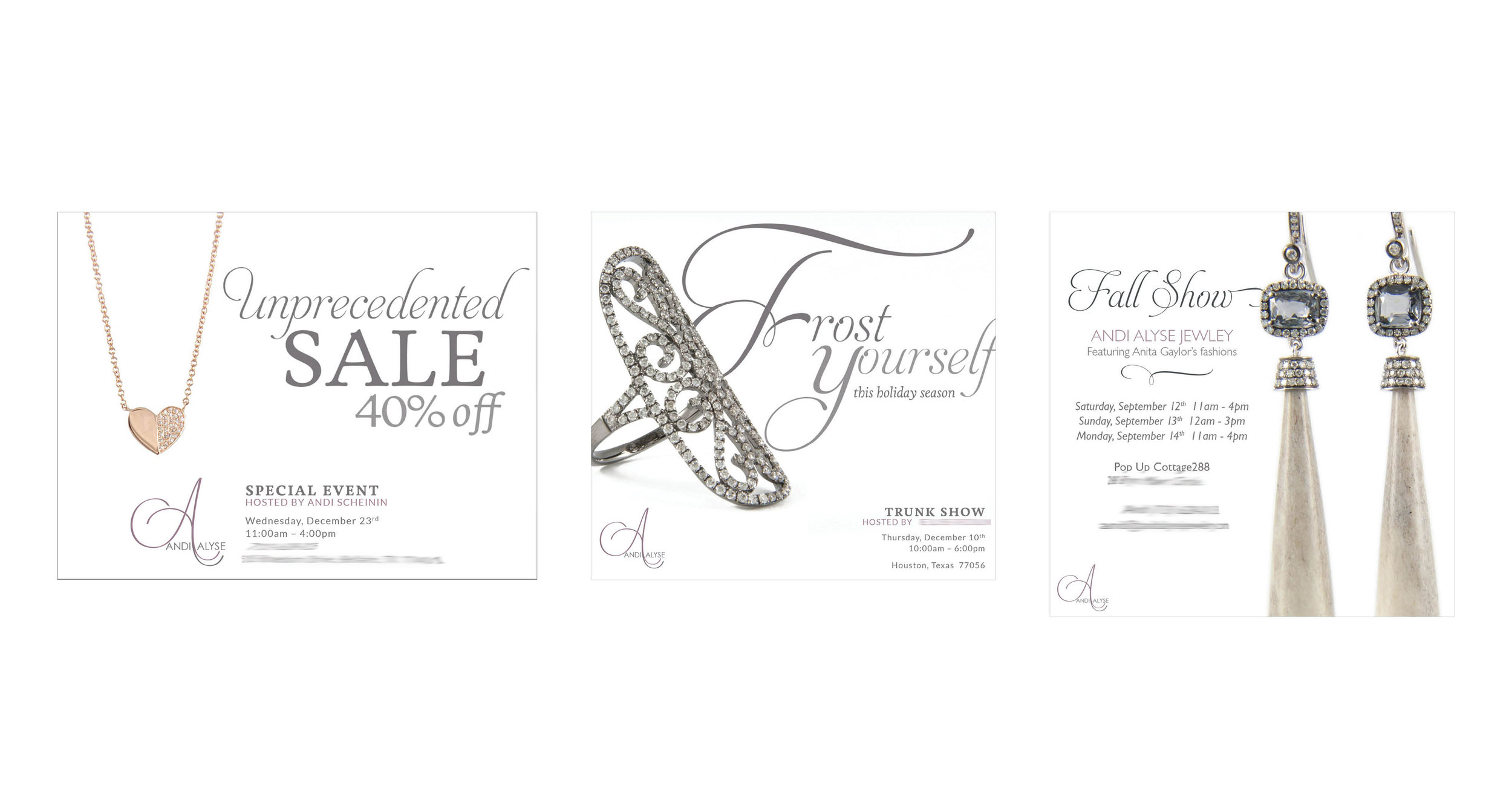 Trunk Show Invitations