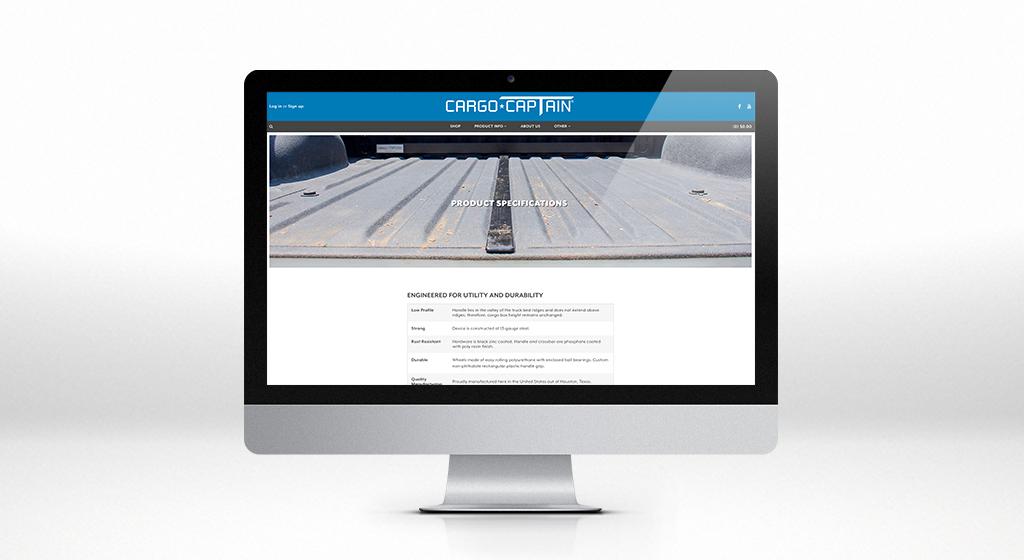 Cargo Captain Interior Page