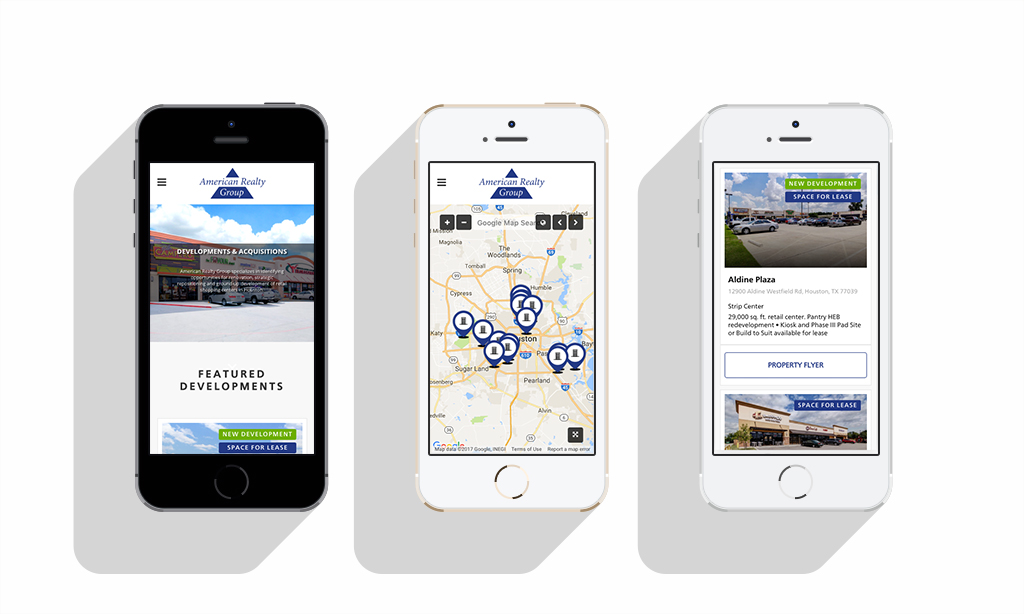 American Realty Group Mobile View