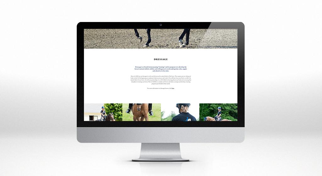 L'Acadiane Equine Management Interior Page