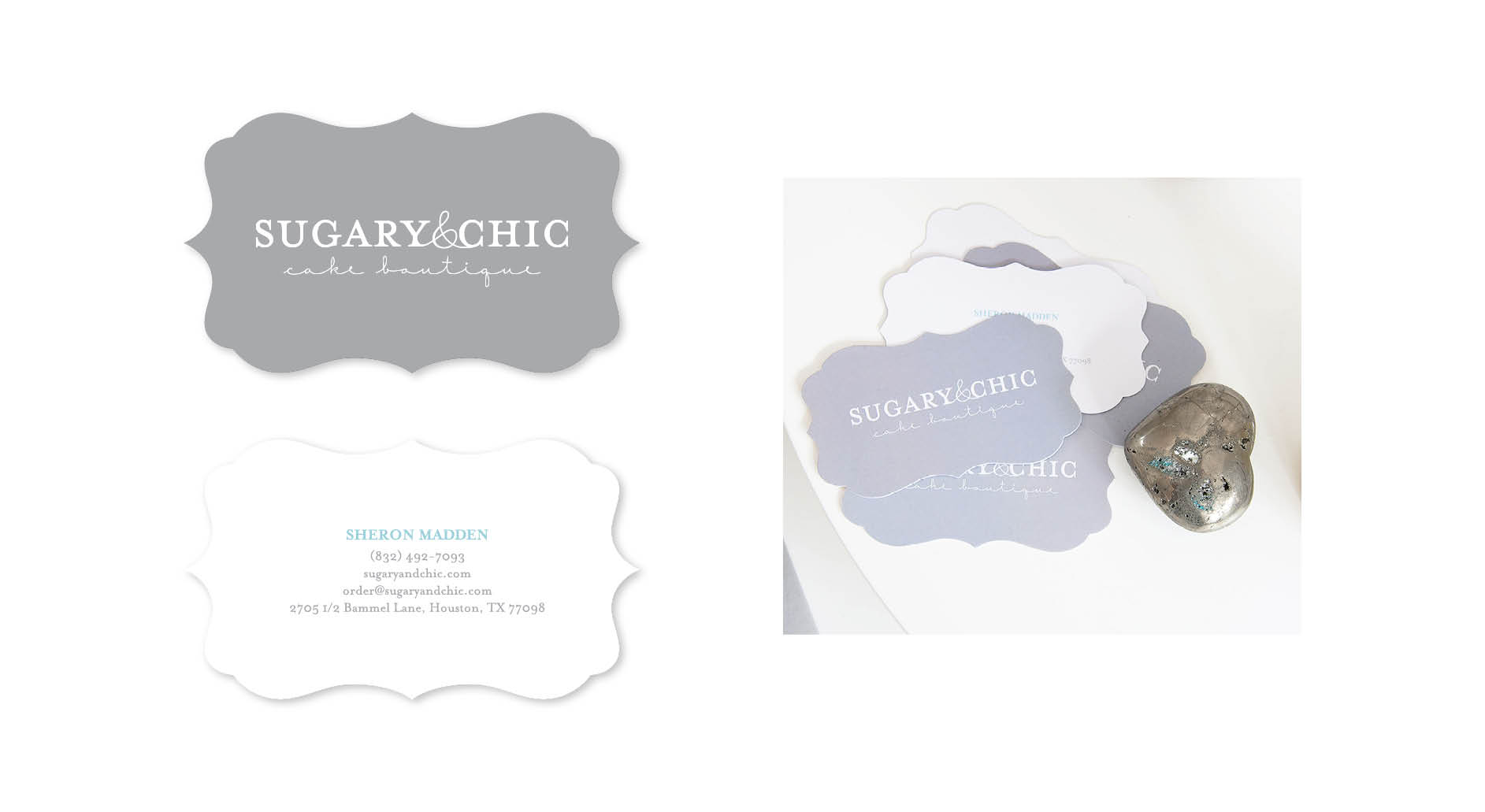 Sugary & Chic Business Cards