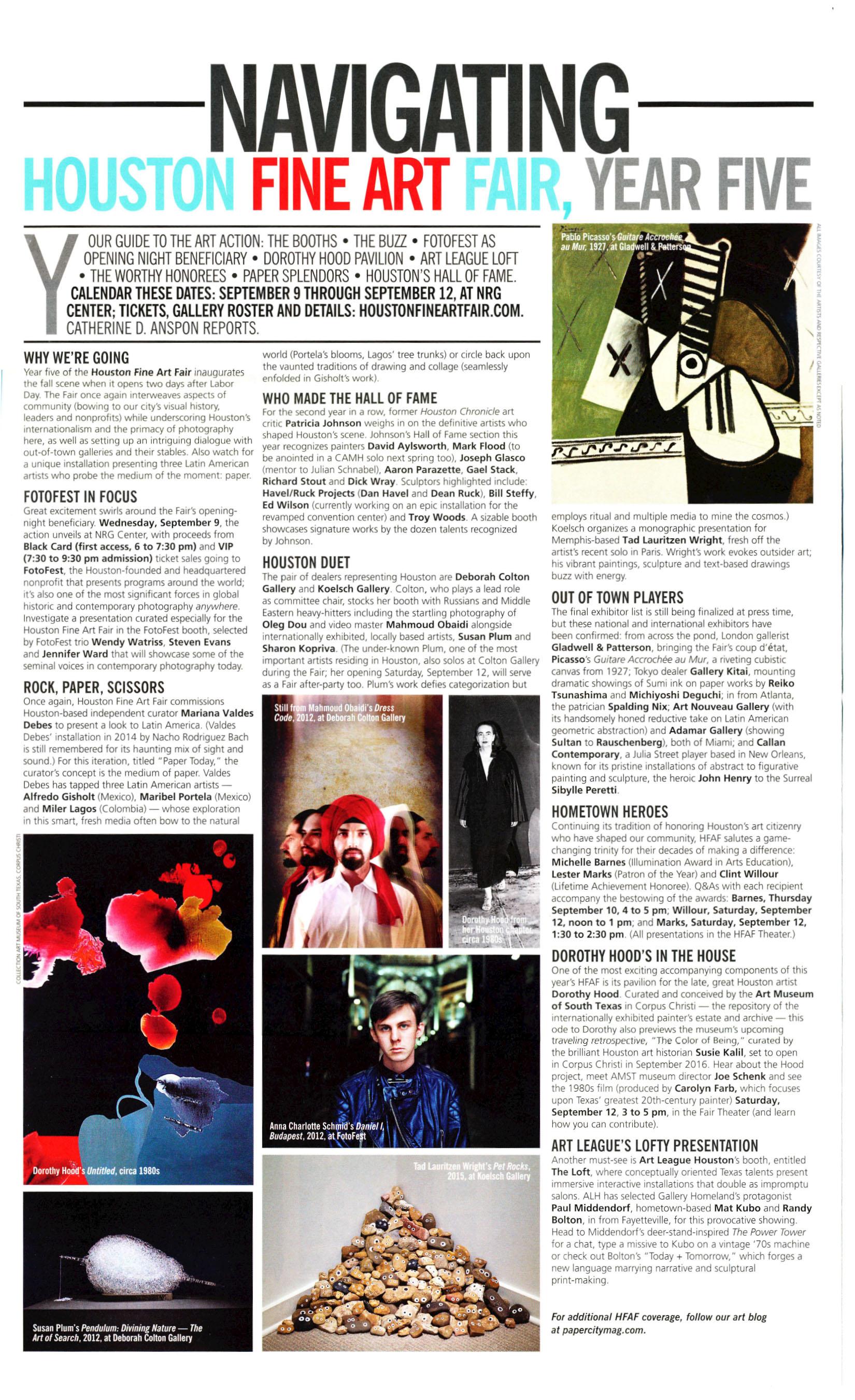 PaperCity Magazine Houston September 2015 p58