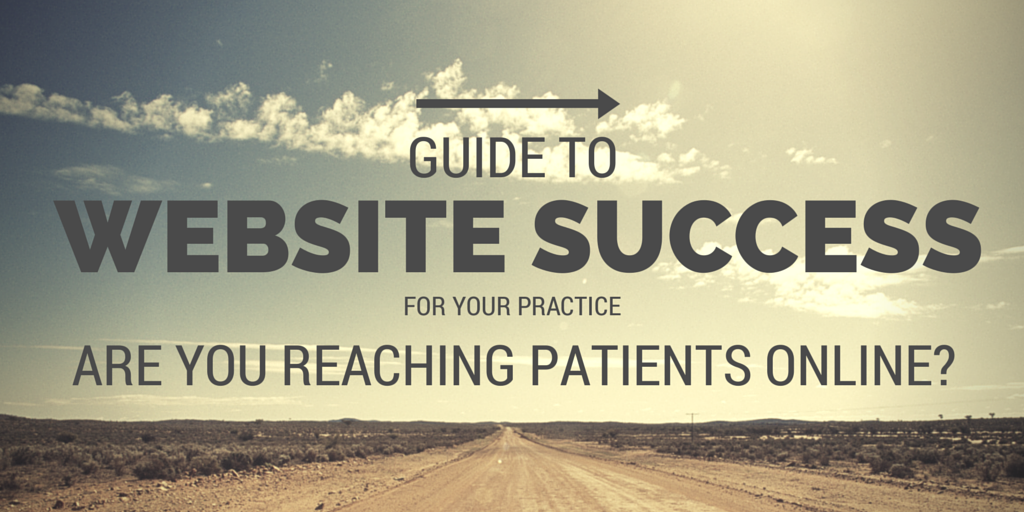Are you on the road to success for practice's website?