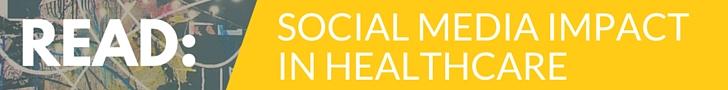 social media impact in healthcare