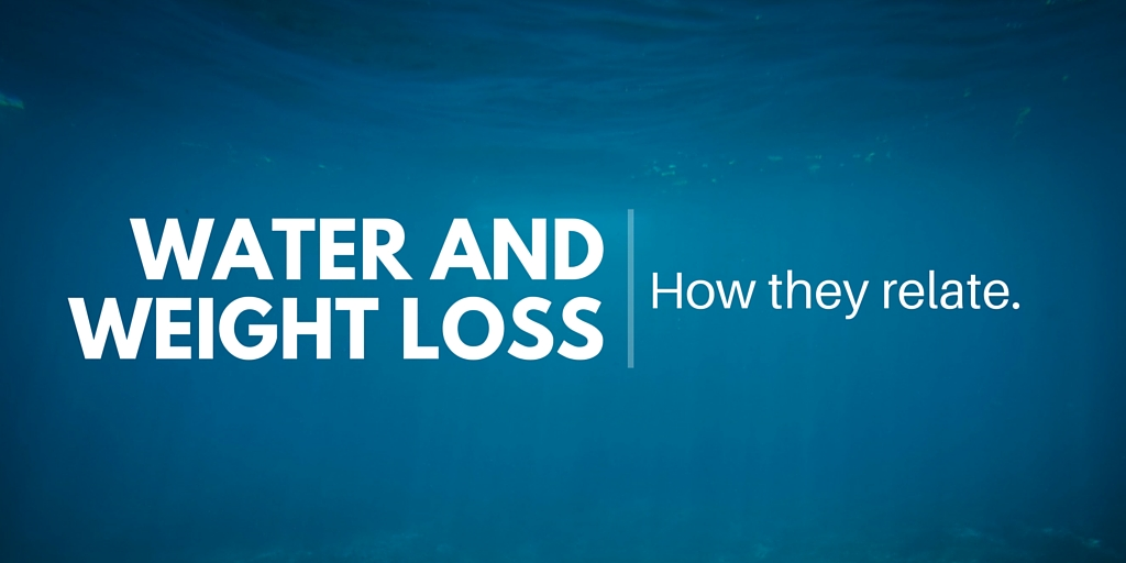 Water and weight loss: how they relate.
