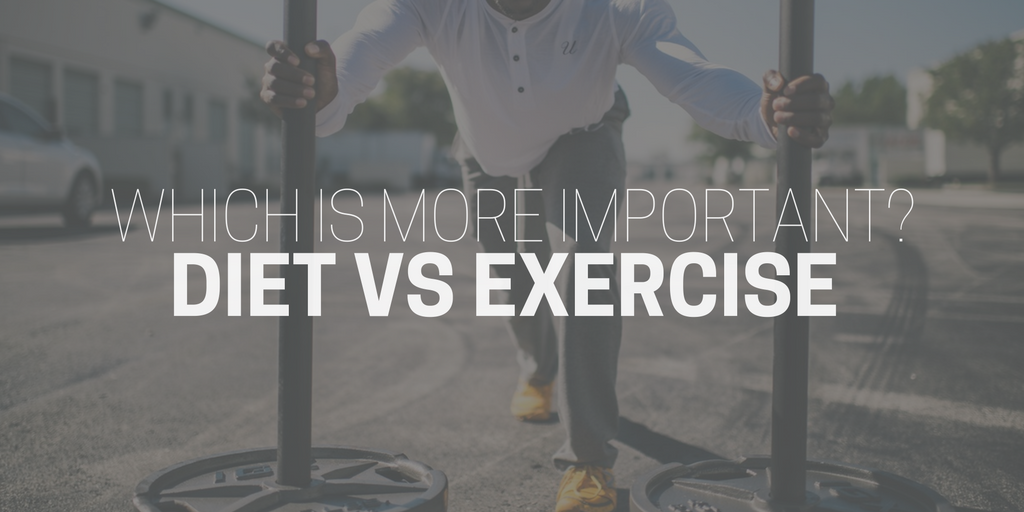 diet vs exercise: which is more important for weight loss?