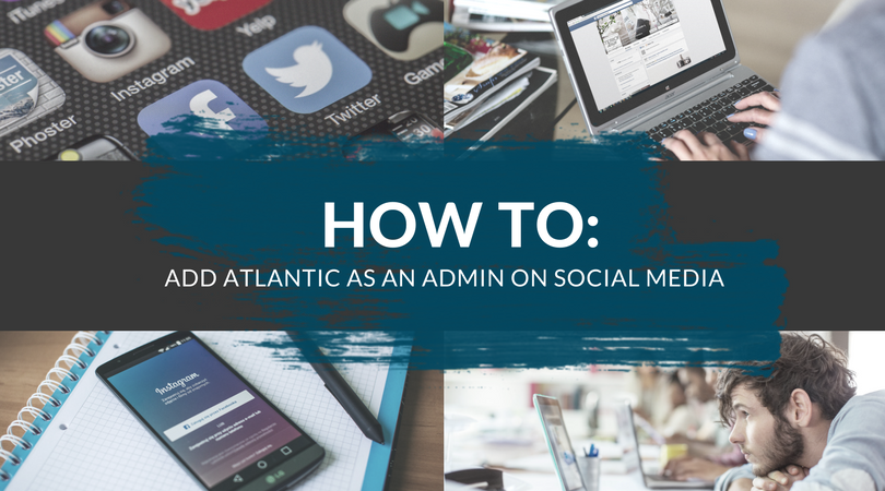 how to add admins on social media