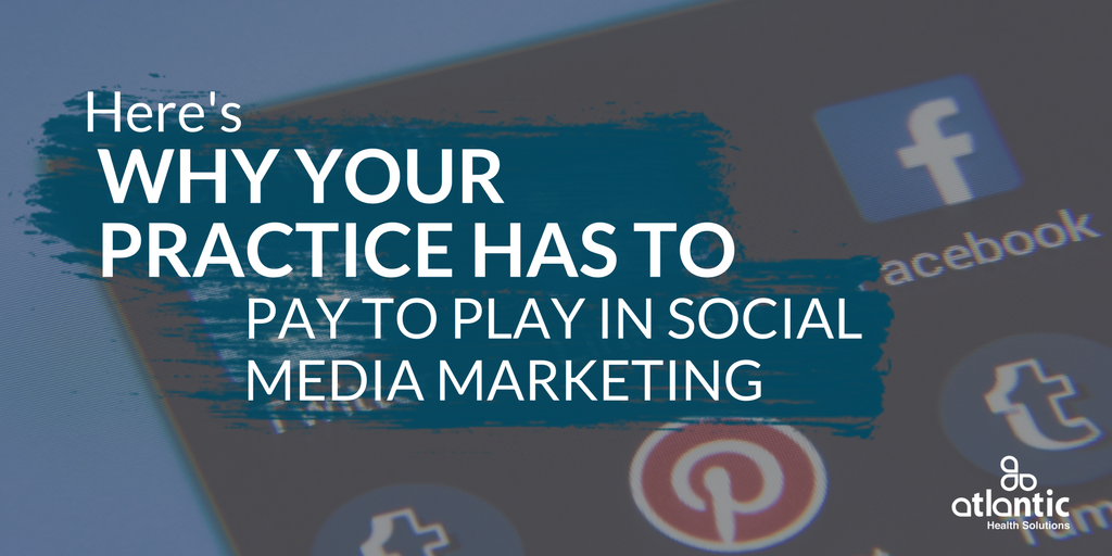 why you have to pay to play in social media marketing