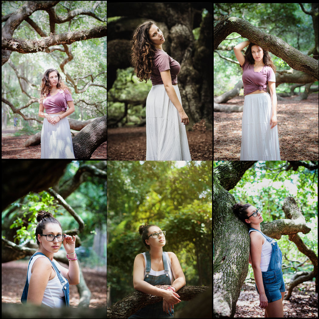 Emily Wilson Photography Angel Oak South Carolina portrait