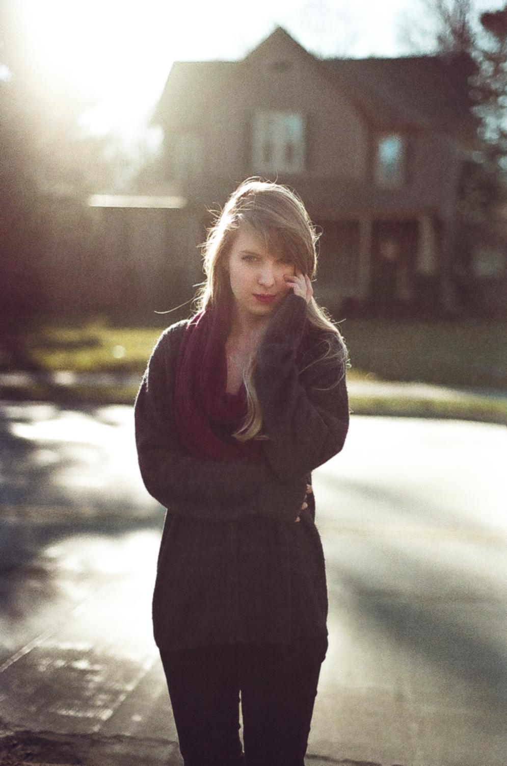 Emily Wilson Photography film camera Pentax 50 mm aged film Tori Trout Urbana Illinois