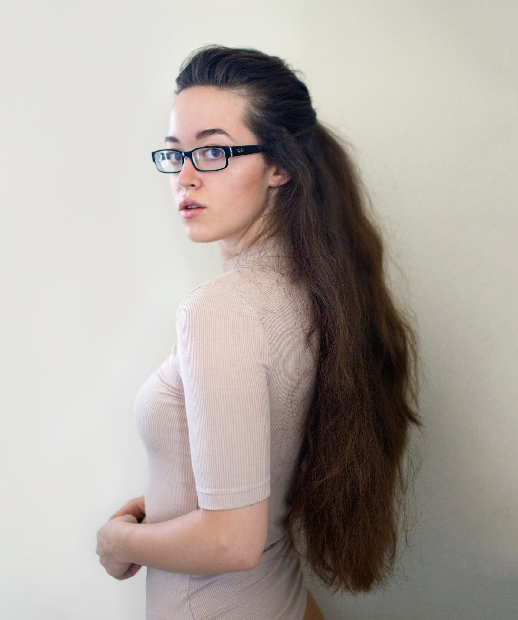 Self portrait, pose, female poses, hair