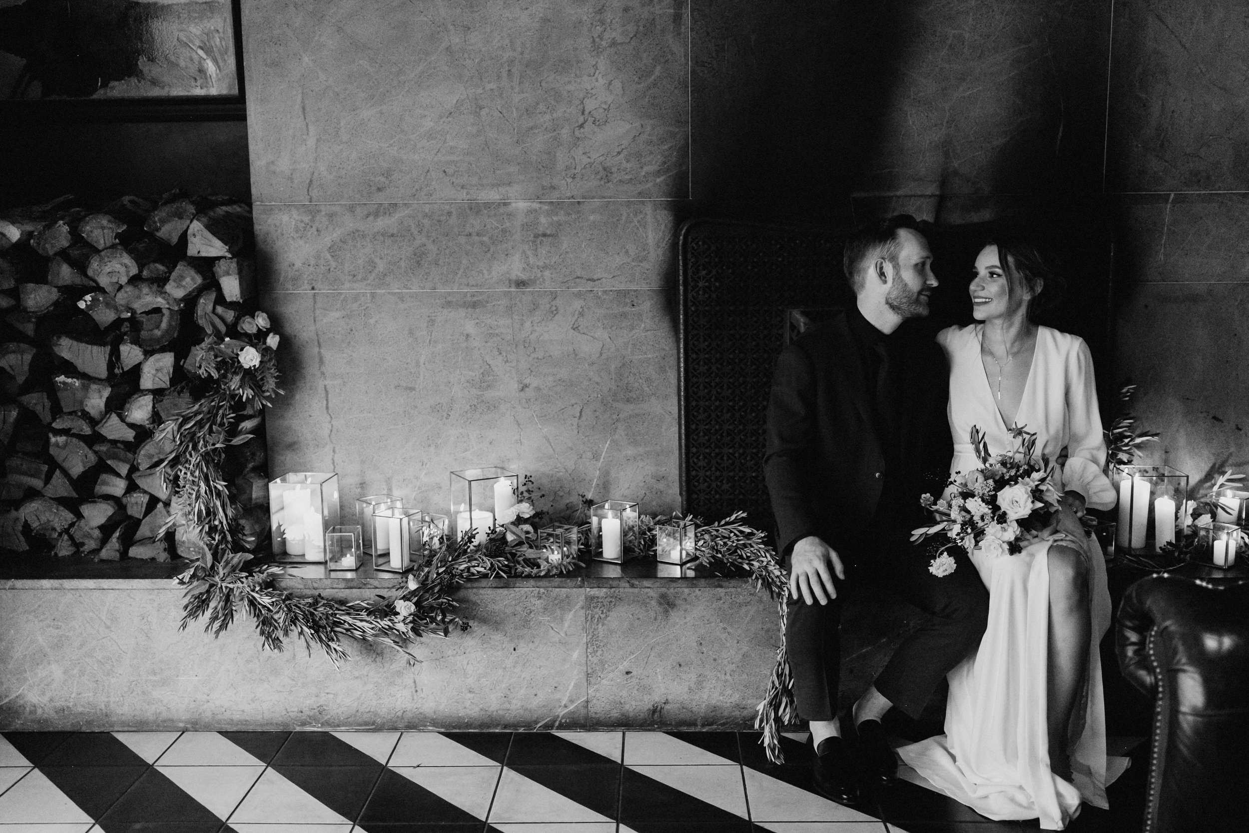 Intimate Wedding at Hotel Saint Cecilla | Gloria Goode photography