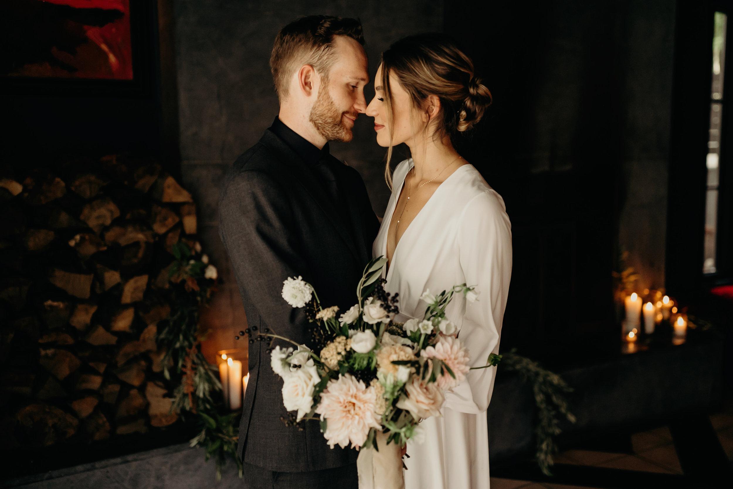 Intimate Wedding at Hotel Saint Cecilla   Gloria Goode photography