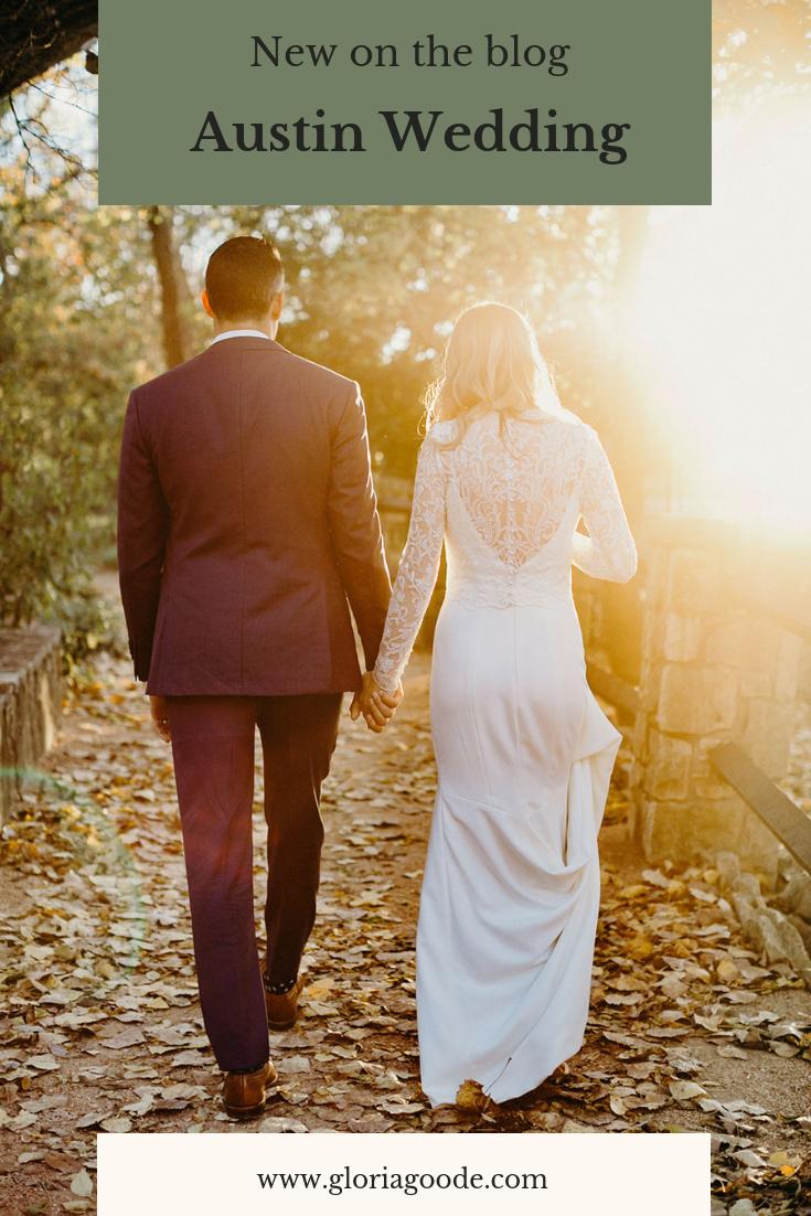 Umlauf Sculpture Garden Wedding in Austin, Texas | Gloria Goode Photography
