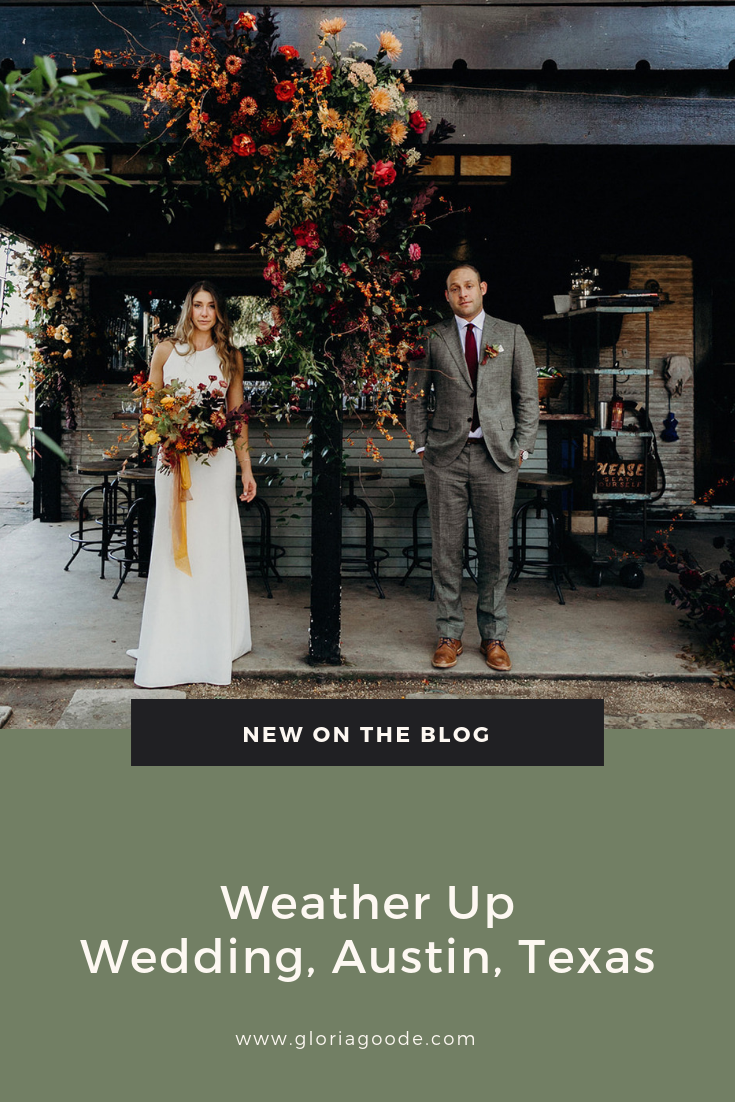 Austin Texas wedding at weather up wedding venue, photography by Gloria Goode
