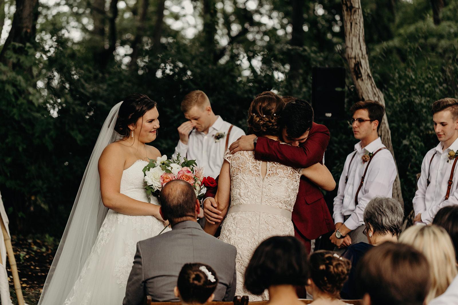Backyard Wedding in Upstate New York  | Gloria Goode Photography