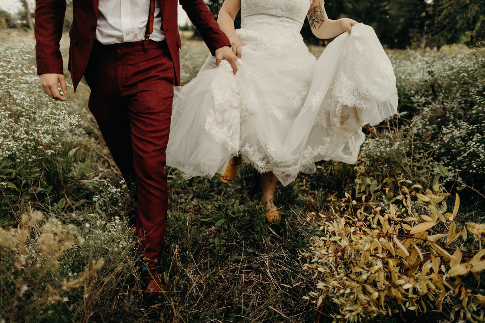 Bride and groom fashion inspiration