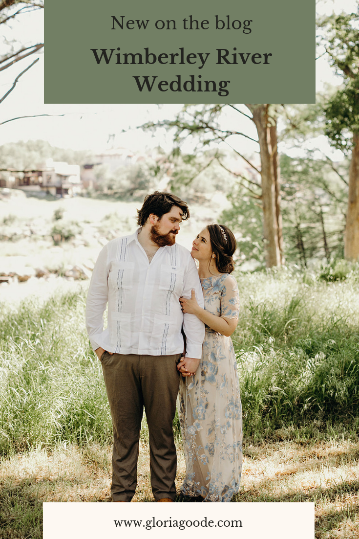 Relaxed outdoor Wimberley River Wedding by Gloria Goode photography