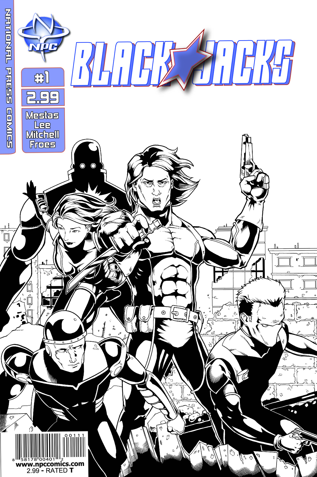 Blackjacks Issue #1 Cover