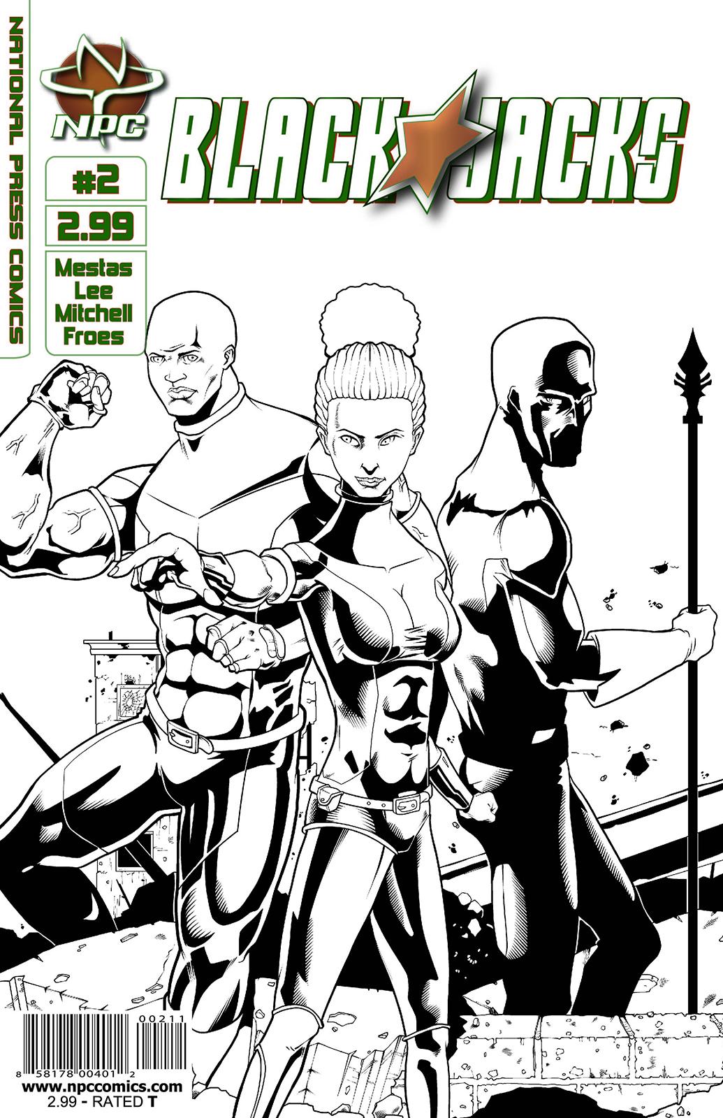 Blackjacks Issue #2 Cover