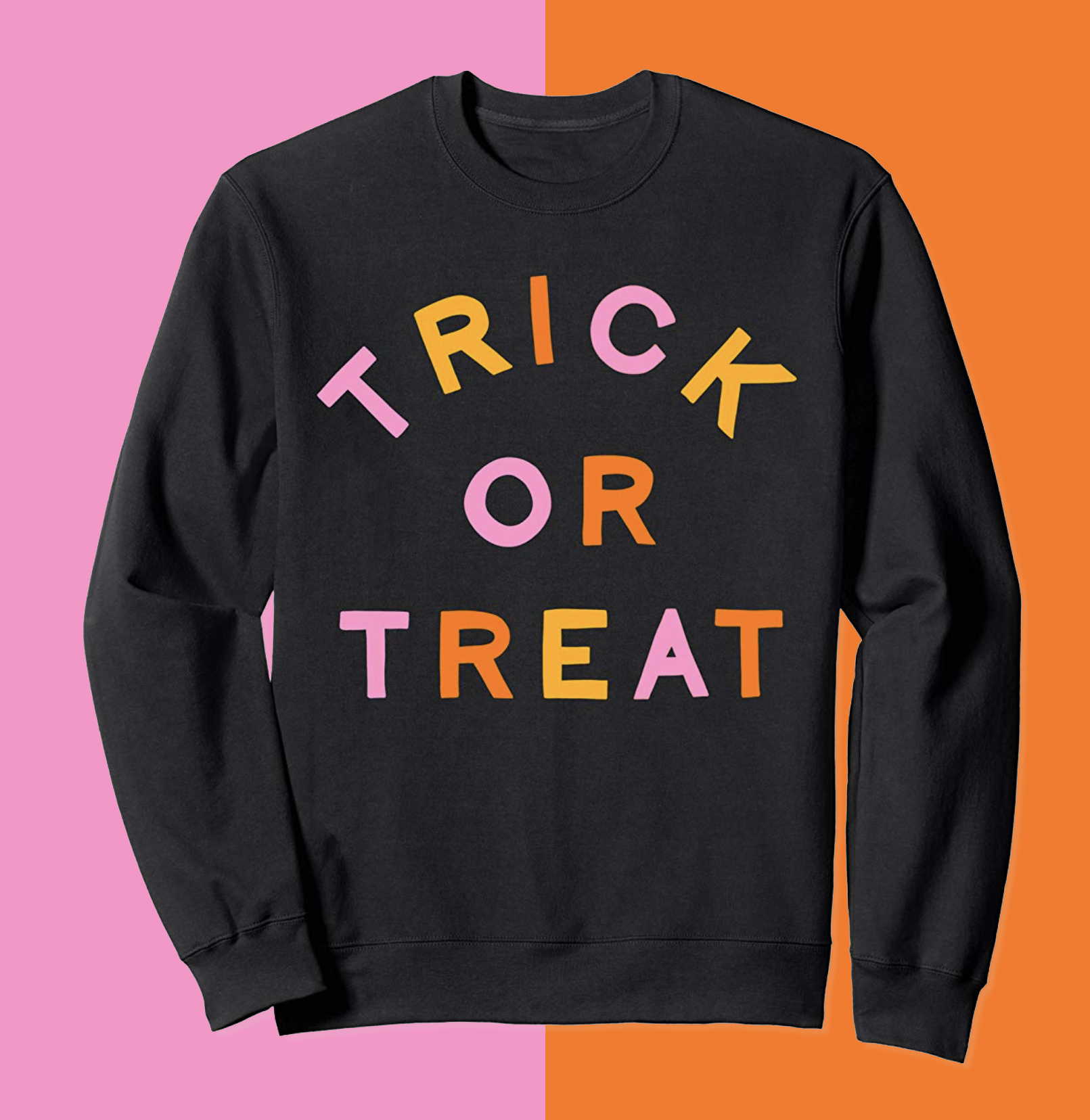 TRICK OR TREAT CREWNECK  $33.00