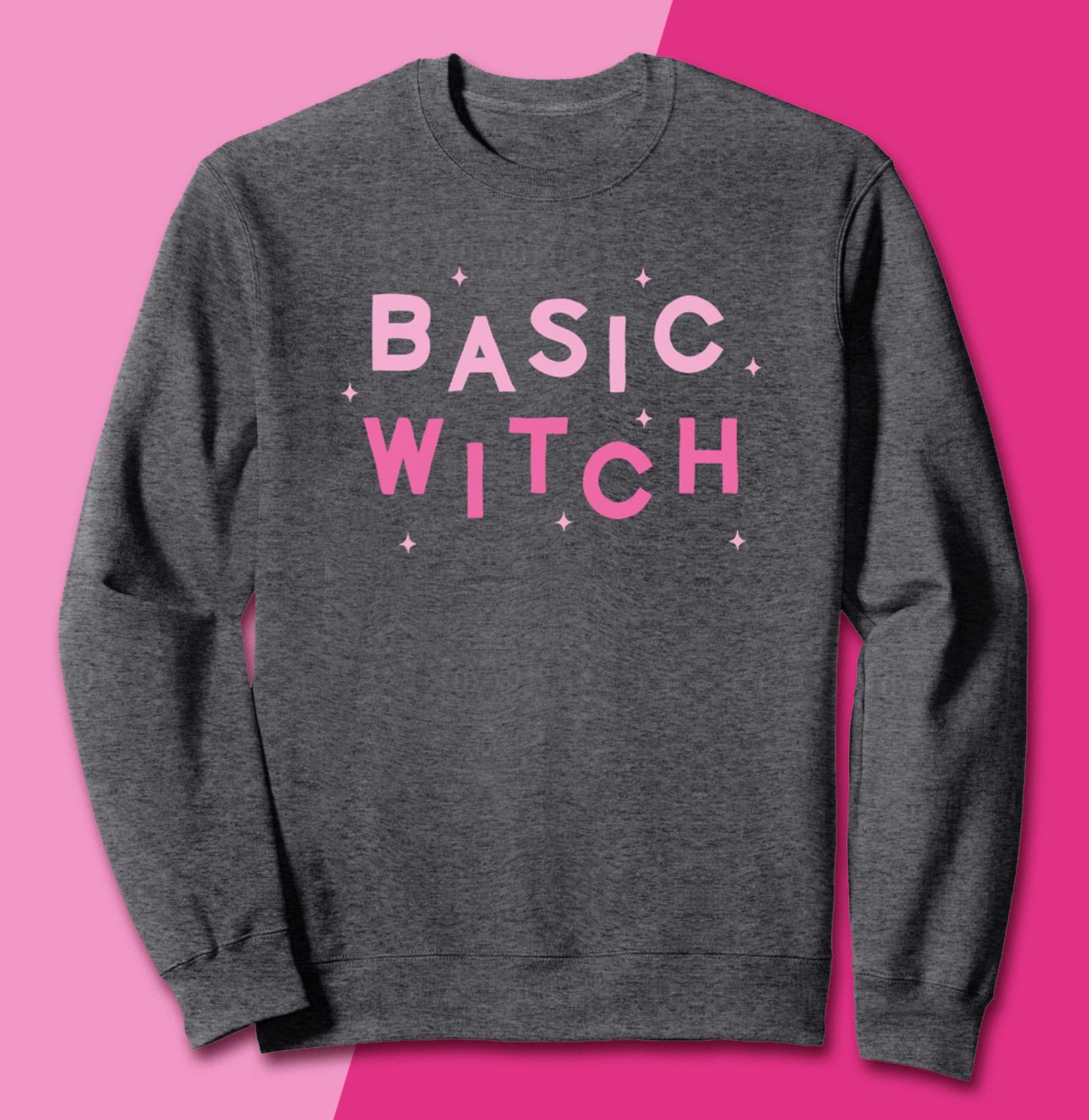 BASIC WITCH CREWNECK  $29.99