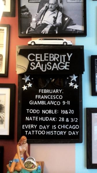 GLT Celebrity Sausage February 2018