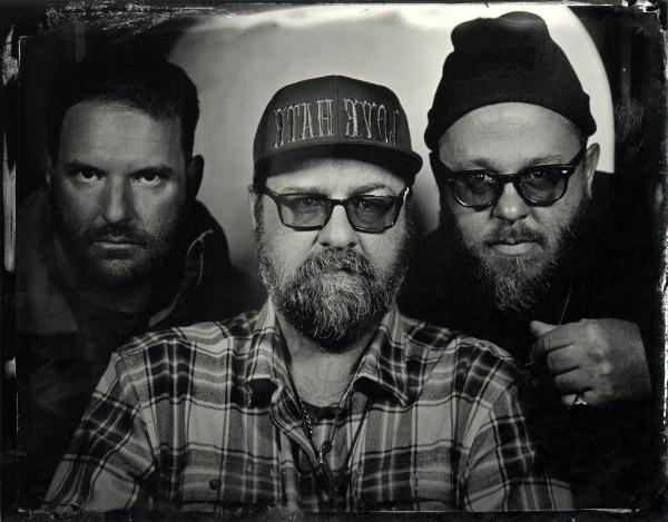 Steve, Greg and Chad tintype by Jen Jansen